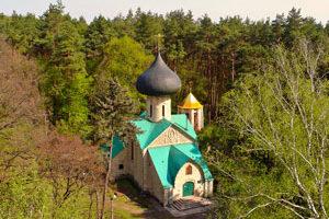 Натальевская церковь. Аэрофотосъемка Харьковская область Украина