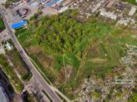 Белевская крепость с дрона на аэрофотосъемке