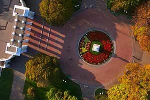 Съемка с дрона Аэрофотосъемка Харькова Парк Горького с высоты