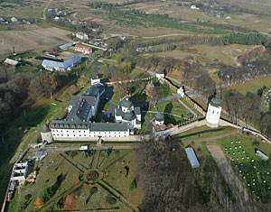 Аэрофотосъемка съемка с дрона Креховский монастырь. Львовская область, Украина