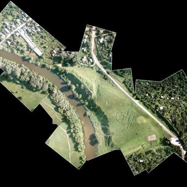 Аэрофотосъемка ситуационного накидного фотоплана
