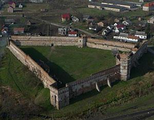 Аэрофотосъемка с дрона Старосельский замок. Пустомытовский район, Львовская область Украина