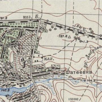 Устаревшая карта