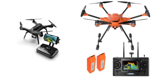 "Квадрокоптер ""Solo""  и гексакоптер ""3DR H520-G"""