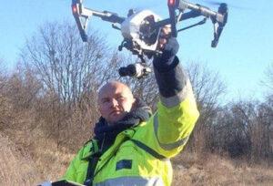 Аэрогеодезия с помощью дрона