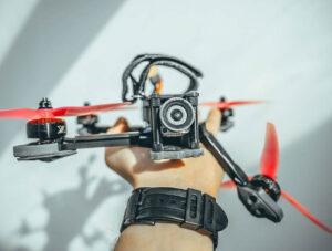 Авария дрона FPV