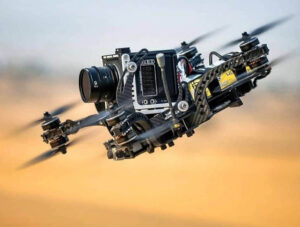 Камера RED на FPV дроне